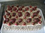 Bolo Mousse de Chocolate com Morangos