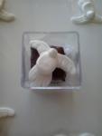 Pão de mel - pombinha - batizado