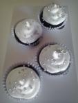 Mini cupcakes - chocolate com Marshmallow