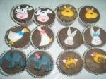 cupcakes arca de noe